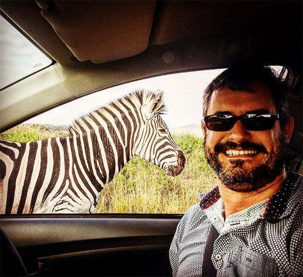 Darryl and the Zebra